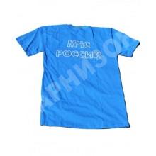 Футболка синего цвета с надписью МЧС